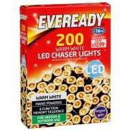 200 Warm White / Cool White LED Outdoor Christmas Lights - Mains Powered - now £6.99 at B&M Bargains