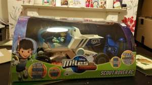 Disney Miles From Tomorrow Scout Rover Radio Controlled Car and a figure £5 @ B&M