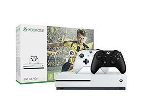 Xbox One S 500GB FIFA 17 Bundle + 2nd Xbox Wireless Controller (incl shipping) @ Amazon DE