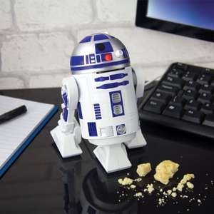 Gift sale -  save up to 70% Star Wars R2D2 USB desk vacuum was £10 now £3 plus more in post @ Sainsburys