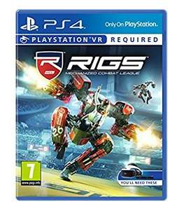 RIGS: Mechanized Combat League, Battlezone, Robinson: The Journey VR £24.99 each @ Amazon