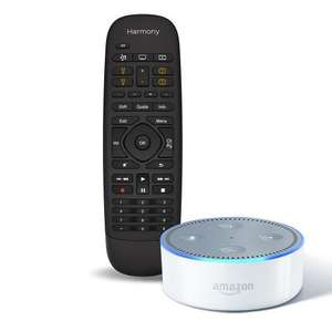Amazon Echo Dot, Harmony Hub and Companion remote £129.99 @ Amazon