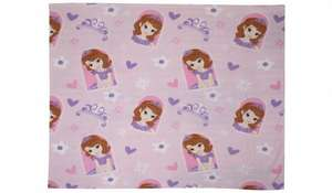 Disney sofia/doc mcstuffins fleece blanket £3.50 @ george asda