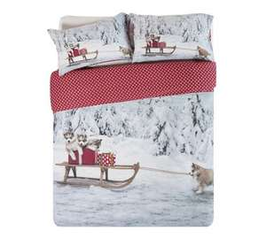 Double Christmas Duvet Cover Sets further reduced at Argos. £6.00
