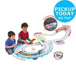 Quick! Only 3 Left! - Go Mini Night Challenge Dual Raceway was £49.99 now £29.99 @ Argos eBay Outlet