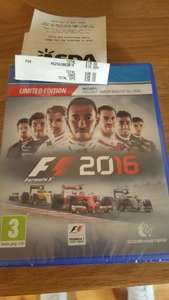 f1 2016 limited edition £15 Asda instore