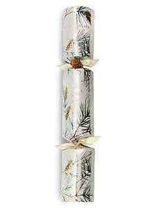 half price Christmas crackers £5 at M&S