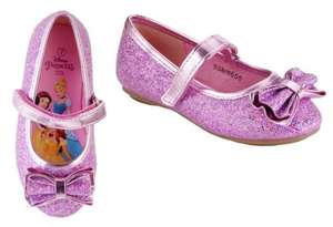Disney Princess Glitter Shoes (was £12.99) now £6.49 @ Argos