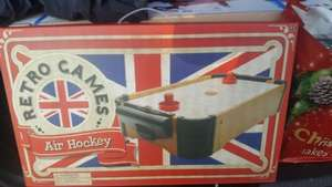 Retro Air Hockey £5 @ morrisons