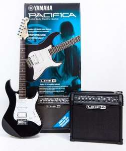 Yamaha Pacifica 012 + Line 6 Spider 15 IV electric guitar set £119.96 @ COSTCO
