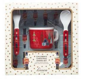 Linear Nutcracker Kids Dining set £5 @ House of Fraser WAS £20 Free collection instore