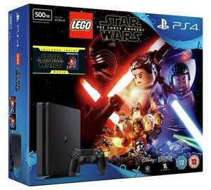 PS4 Slim 500GB Lego Starwars Bundle + Overwatch + FIFA17 @ Tesco £222.99