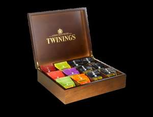 Twinings Deluxe Wooden Tea Box £36 delivered @ twinings.co.uk