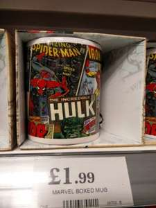 Marvel Mug (Ideal stocking filler) Only £1.99 @ Home bargains