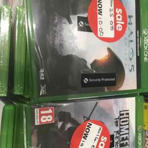 halo 5 and home front xbox one £10 each at Asda