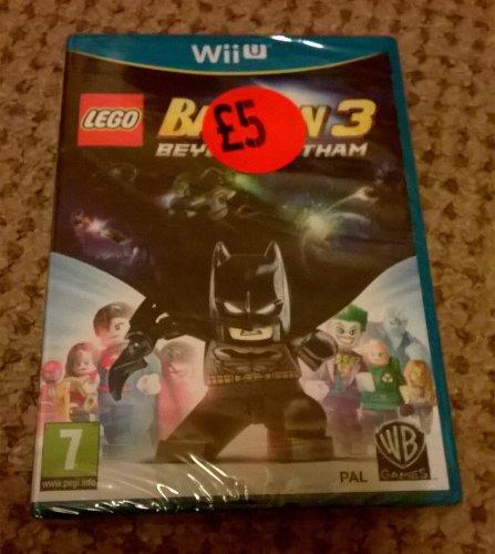 Lego Batman 3 Beyond Gotham Wii U £5 instore @ Sainsbury's - Coventry