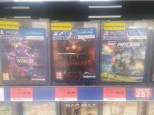 Various PSVR games reduced £12.99 @ Sainsburys (Ipswich)