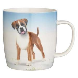 Buster the Boxer Mug was £5 now £2.50 @ John Lewis (Plus £3.50 for delivery or £2 C&C)