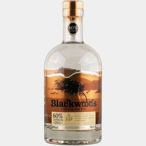 Blackwoods 60% Gin 70cl @ Amazon for £24.99. Prime or No Prime!
