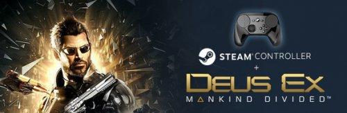 Buy Deus Ex: Mankind Divided + Steam Controller Bundle, Steam - £37.18 + POSTAGE = £44.58
