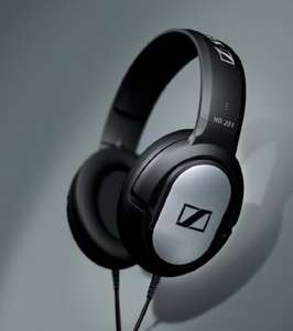 Sennheiser HD 201 headphones + 2 year guarantee now £15.29 delivered using code @ Currys