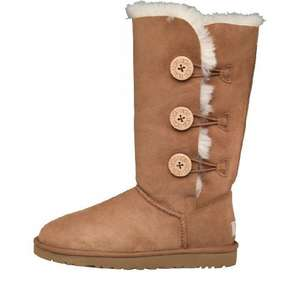 UGG Australia Womens Bailey Button Triplet Button Boots Chestnut £109.99 mandmdirect