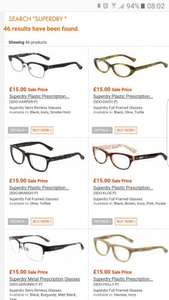 Specky Four Eyes Superdry frames from £15