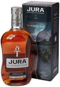 Isle Of Jura Superstition Whisky, 70 cl - £22.49 - Amazon Lightning Deal