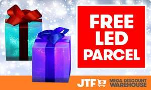 Free LED parcel at JTF when you shop today!