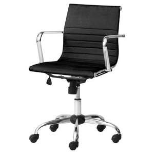 Monroe Black Office Chair - Tesco (£39) Free collection