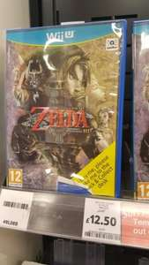 Zelda Twilight Princess Wii U £12.50 @ tesco instore