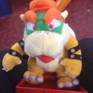 """bowser plush toy (10"""") £3.99 @ this is it"""
