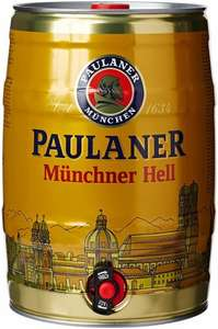 Paulaner Munich Beer Mini Keg, 5 L at £20.07 exclusive for prime/amazon