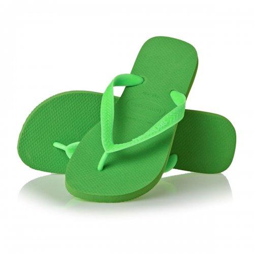 EPIC FLOP!!! Havaianas Top Green Neoneletric Flip Flops £7.19 surfdome