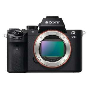 BEAT PRICE INCREASES: Sony ILCE7M2B Full Frame Compact System Camera Body (5-Axis Image Stabilization, XAVC S Format Recording, 24.3 MP, Fast Hybrid AutoFocus) at Amazon