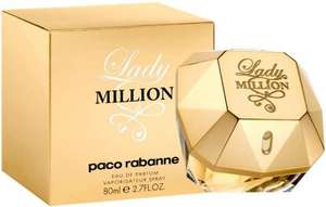 Paco Rabanne Lady Million Eau de Parfum 80ml £47.50 Amazon