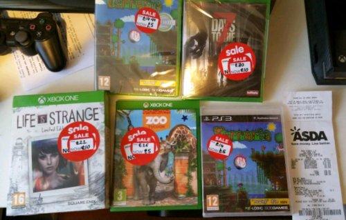 Asda game sale - various titles instore