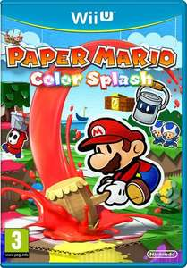Paper Mario Colour Splash wii u from amazon for £29.99