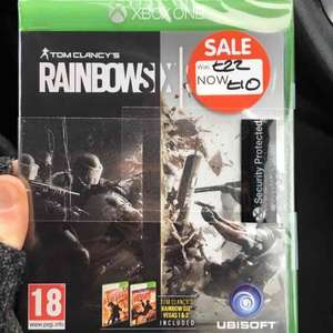 Rainbow Six Siege Xbox One only £10 at Asda instore