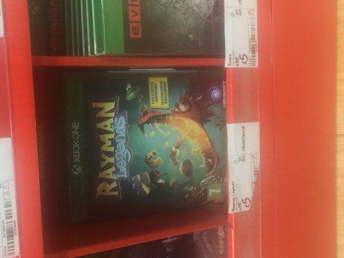 rayman legends Xbox one £5 @ Asda instore
