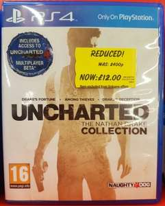 Uncharted: The Nathan Drake Collection PS4 £12, Dark Souls 3 PS4 £8, Deus Ex Mankind Divided Xbox One £13 @ Asda instore