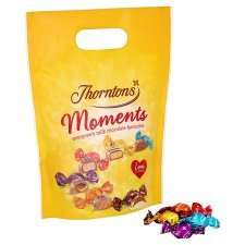 Thorntons Moments  Pouch 448G £2.50 ( were £3.50) @ Tesco
