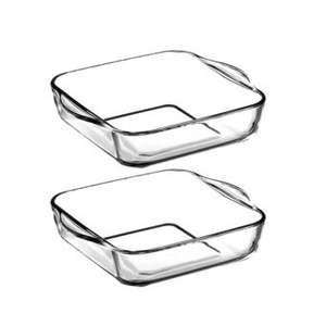 *INSTORE* Wilko - pack of 2 borcam glass oven trays for £3.00
