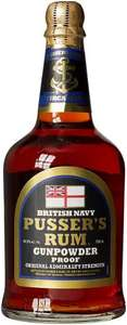 Pusser's Gunpowder Rum 70cl £22.49 - Lightning Deal @ Amazon