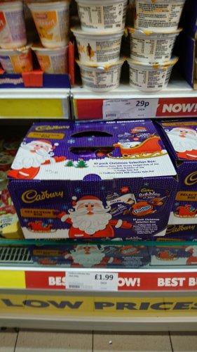 Cadbury chocolate dessert pots selection box 10pk £1.99 @ Heron foods
