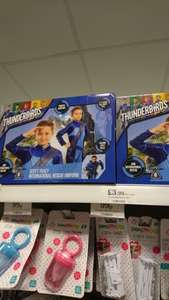 Thunderbirds Scott Tracey dress up costume/uniform £3.99 @ home bargains