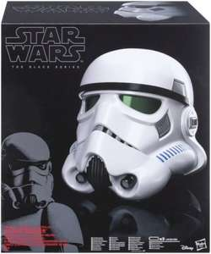 Star Wars Black Series Stormtrooper Voice Changer Helmet - IN STOCK  £62.99 @ Zavvi