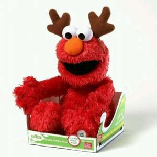 Gund  35.5cm Seasame Street Singing Holiday Elmo £29.07 Amazon