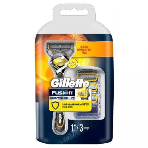 Gillette Fusion Proshield starter pack (razor + 4 blades) £10 Asda