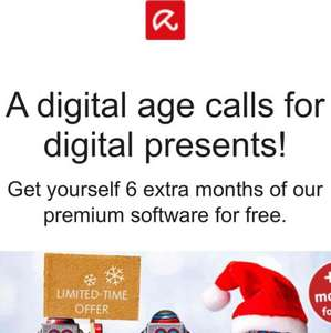 avira 6 months free protection for your PC